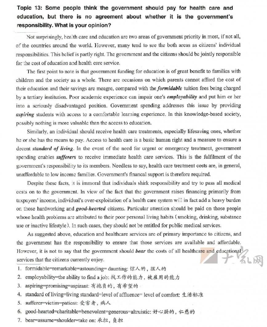 008 Writingtask2rezagholami0013 Ielts Essay Writing General Training Unique For Pdf Topics