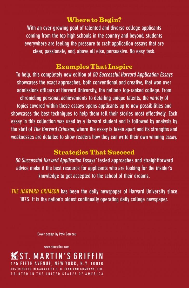 009 815kp6cfuhl Harvard Acceptance Essays Essay Frightening 50 Successful Application Pdf Free 2017 3rd Edition 728