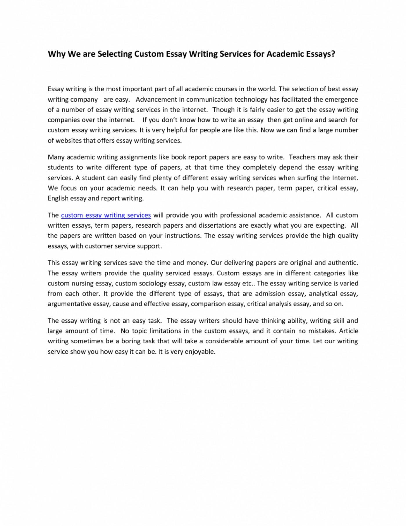 academic essay example 2000 words