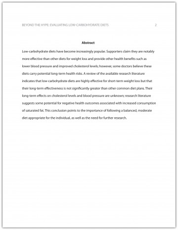 009 Ama Essay Format Example Best 360