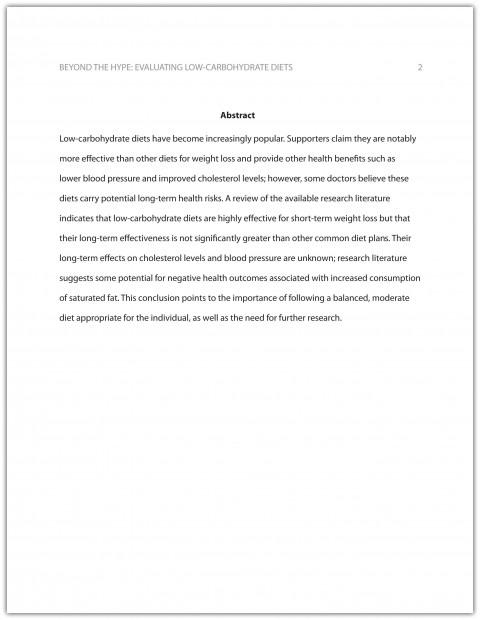 009 Ama Essay Format Example Best 480