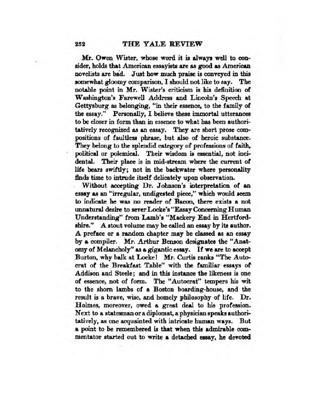 009 American Essay Page4 1024px The In War Time2c Agnes Repplier2c 1918 Pdf Striking Format Literature Topics Identity Titles Full