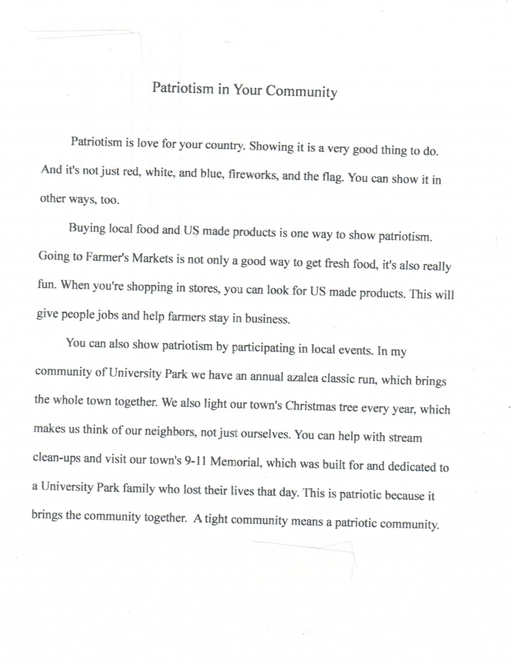 009 Americanism Essay Contest Example Astounding Amvets 2017 For Grades 7–12 Education Leaders Large