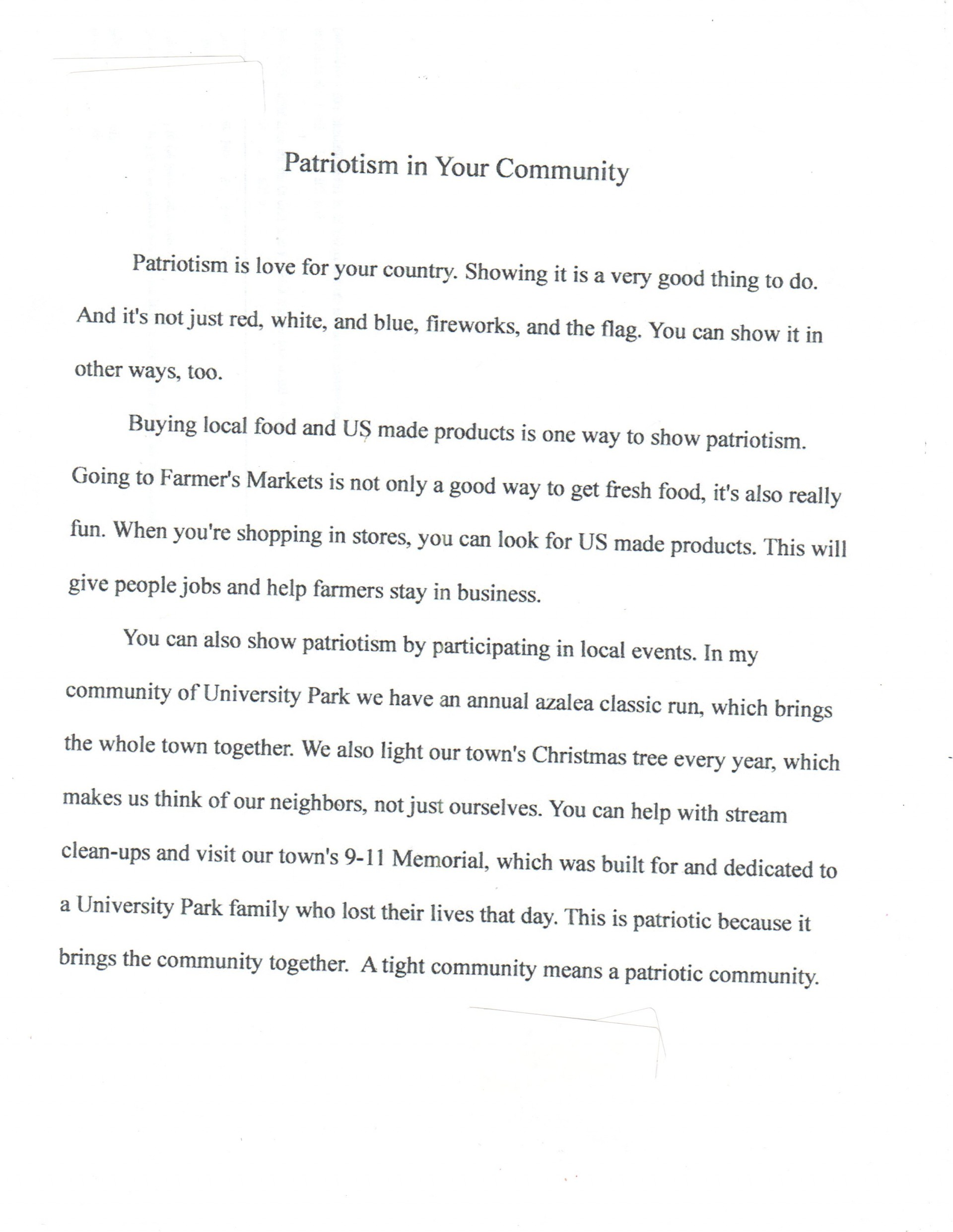 009 Americanism Essay Contest Example Astounding Amvets 2017 For Grades 7–12 Education Leaders 1920