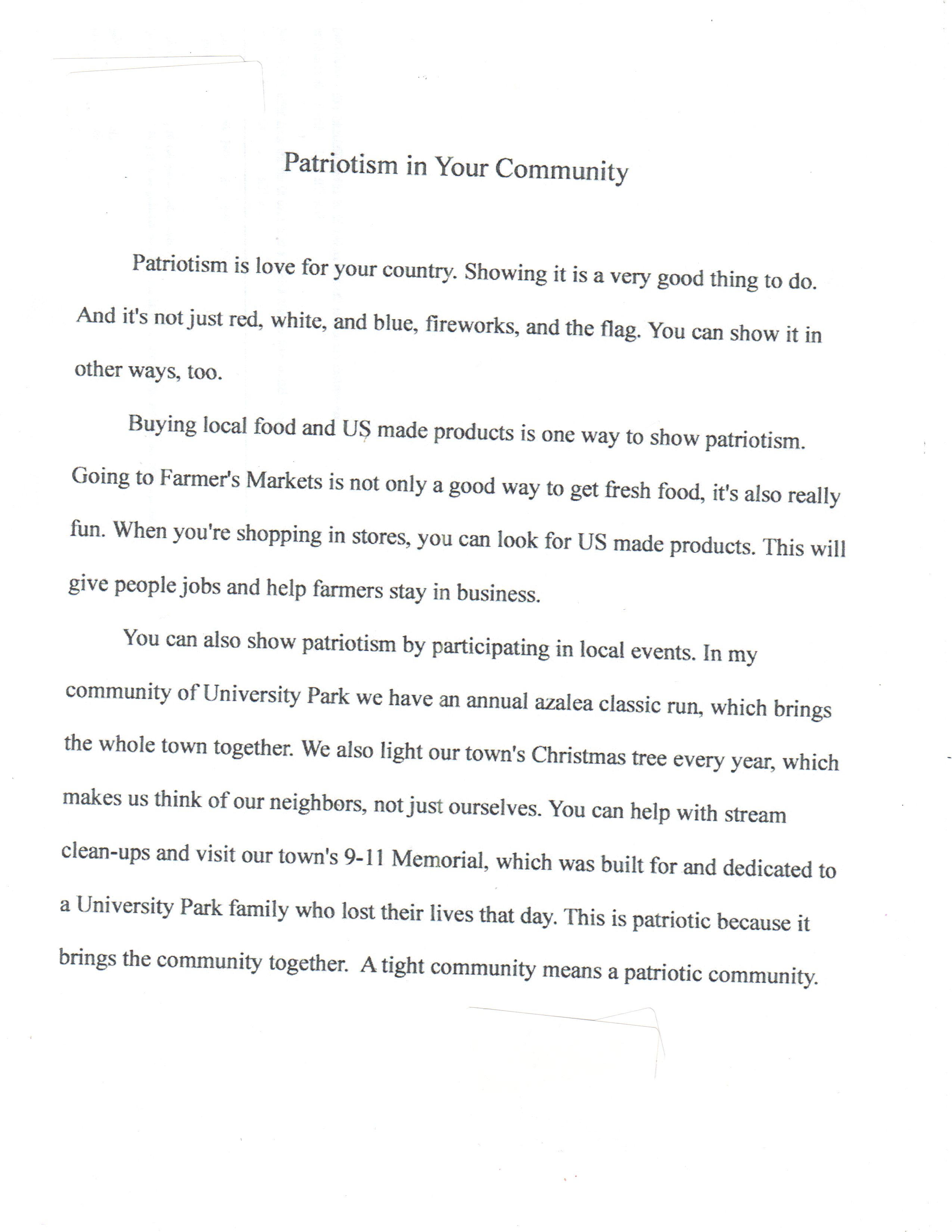 009 Americanism Essay Contest Example Astounding Amvets 2017 For Grades 7–12 Education Leaders Full
