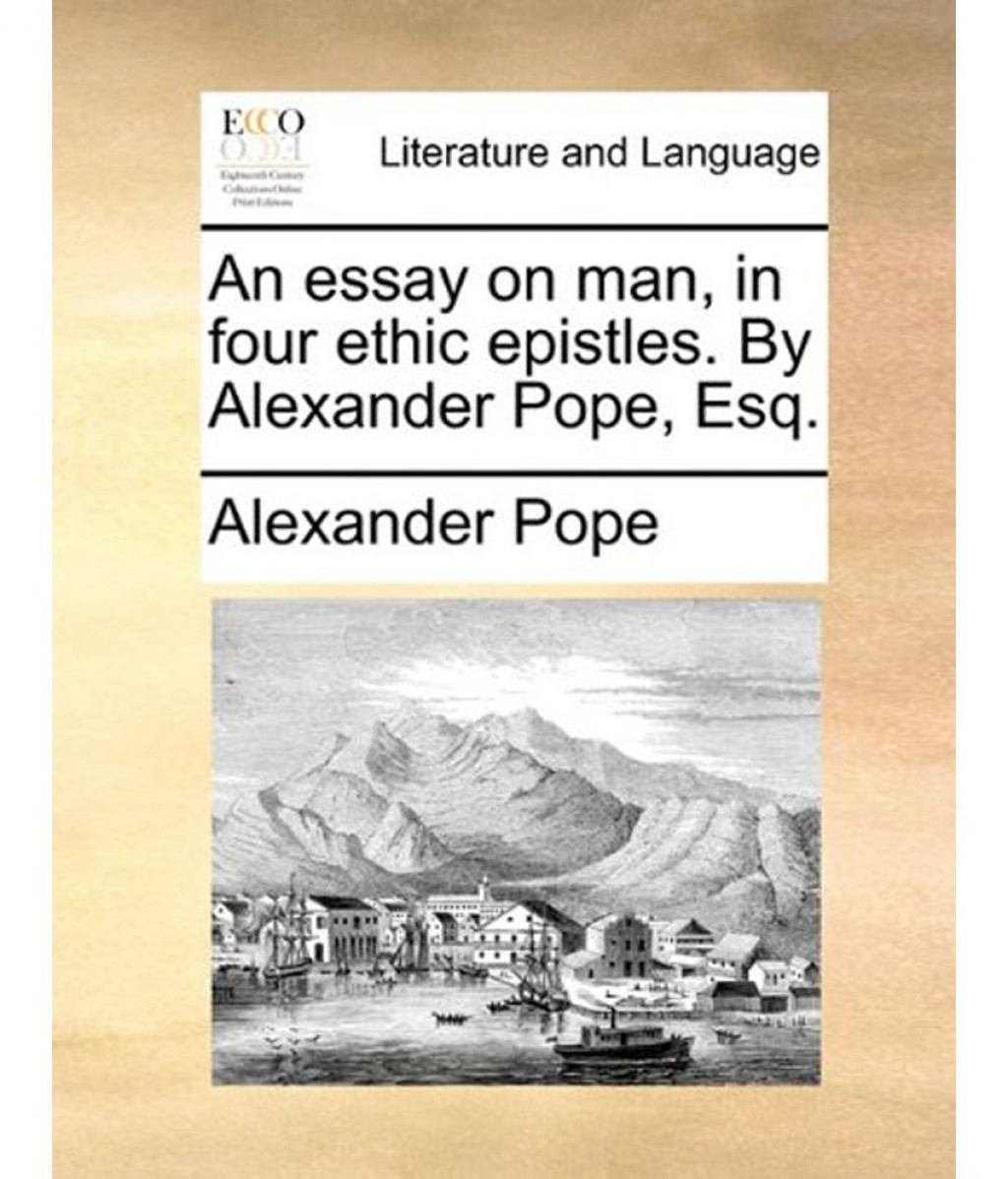 Analysis of an essay on man