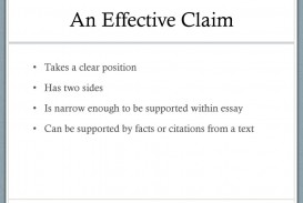 009 Aneffectiveclaimtakesaclearpositionhastwosides An Effective Claim For Argumentative Essay Is Wondrous Which Statement Example Of Brainly Quizlet