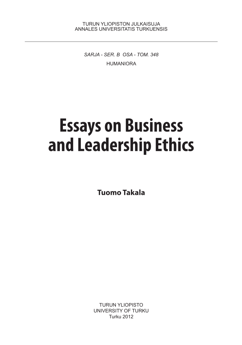 009 Business Ethics Essay Example Awful Questions And Answers Pdf Topic Ideas Full