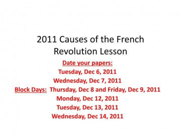 009 Causes Of The French Revolution Essay Exampleesson Best Conclusion Economic Introduction 360