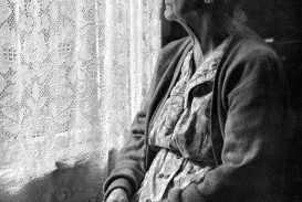 009 Elderly Woman Sitting Looking Out Window Chalmers Butterfield The Essay Stunning Of My