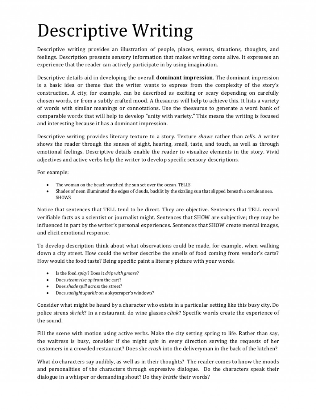 009 Elements Of Descriptive Essay Example Google Docs Resume Template Free Wr Short Sample Pdf About Love Research Paper Exceptional Key A And Features Large