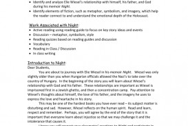 009 Essay Example 009753876 1 Night By Elie Fearsome Wiesel Examples Conclusion