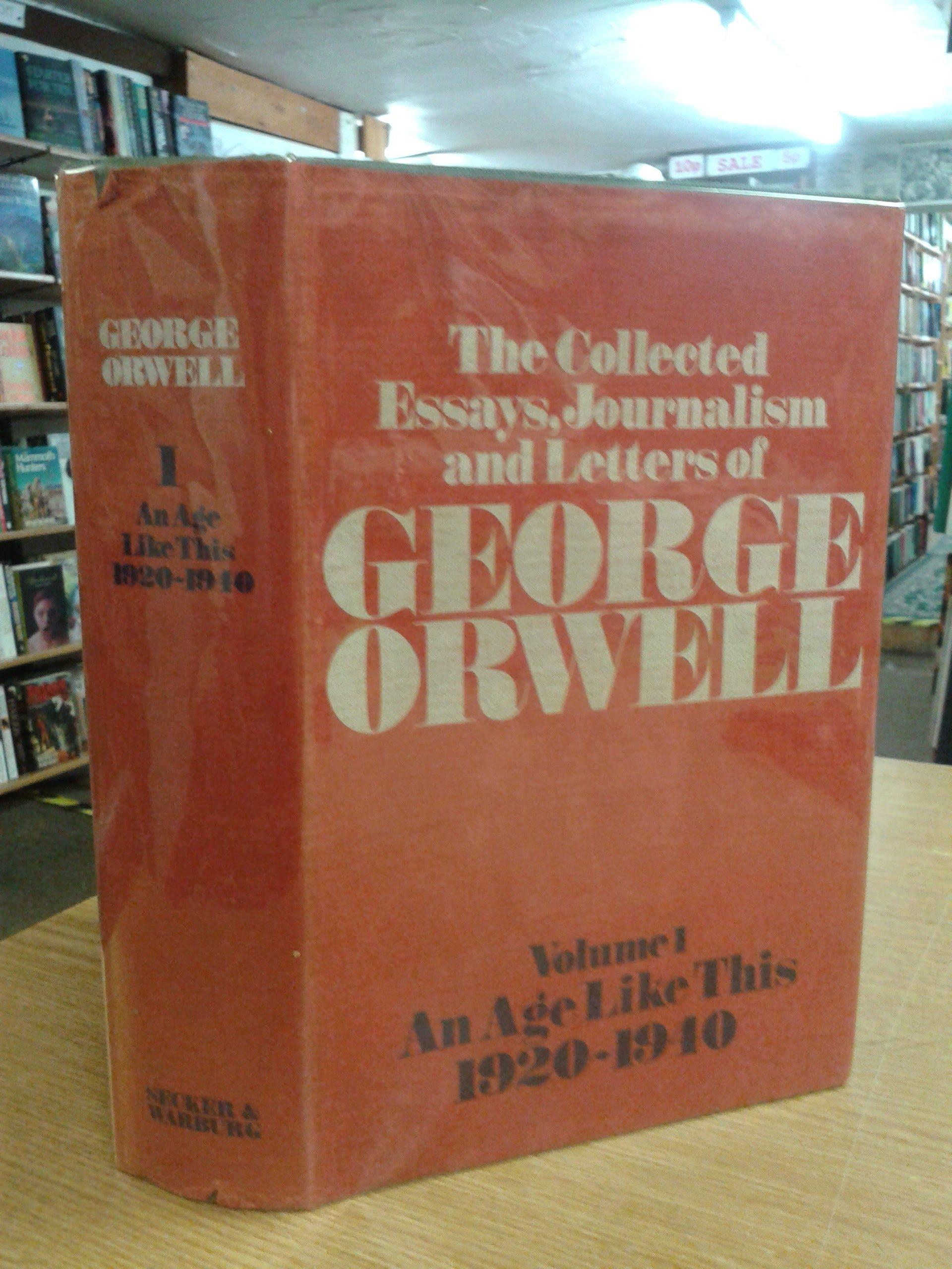 009 Essay Example 910v7kdx32bl Orwell Singular Essays Themes Epub George Pdf Download Full