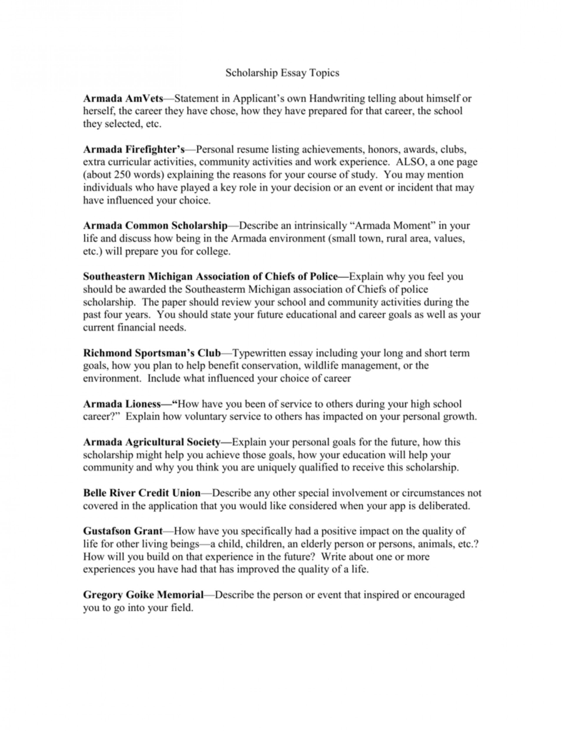 inspirational person essay examples