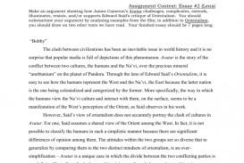 009 Essay Example Avatar Imperialism 009173125 1 Stirring