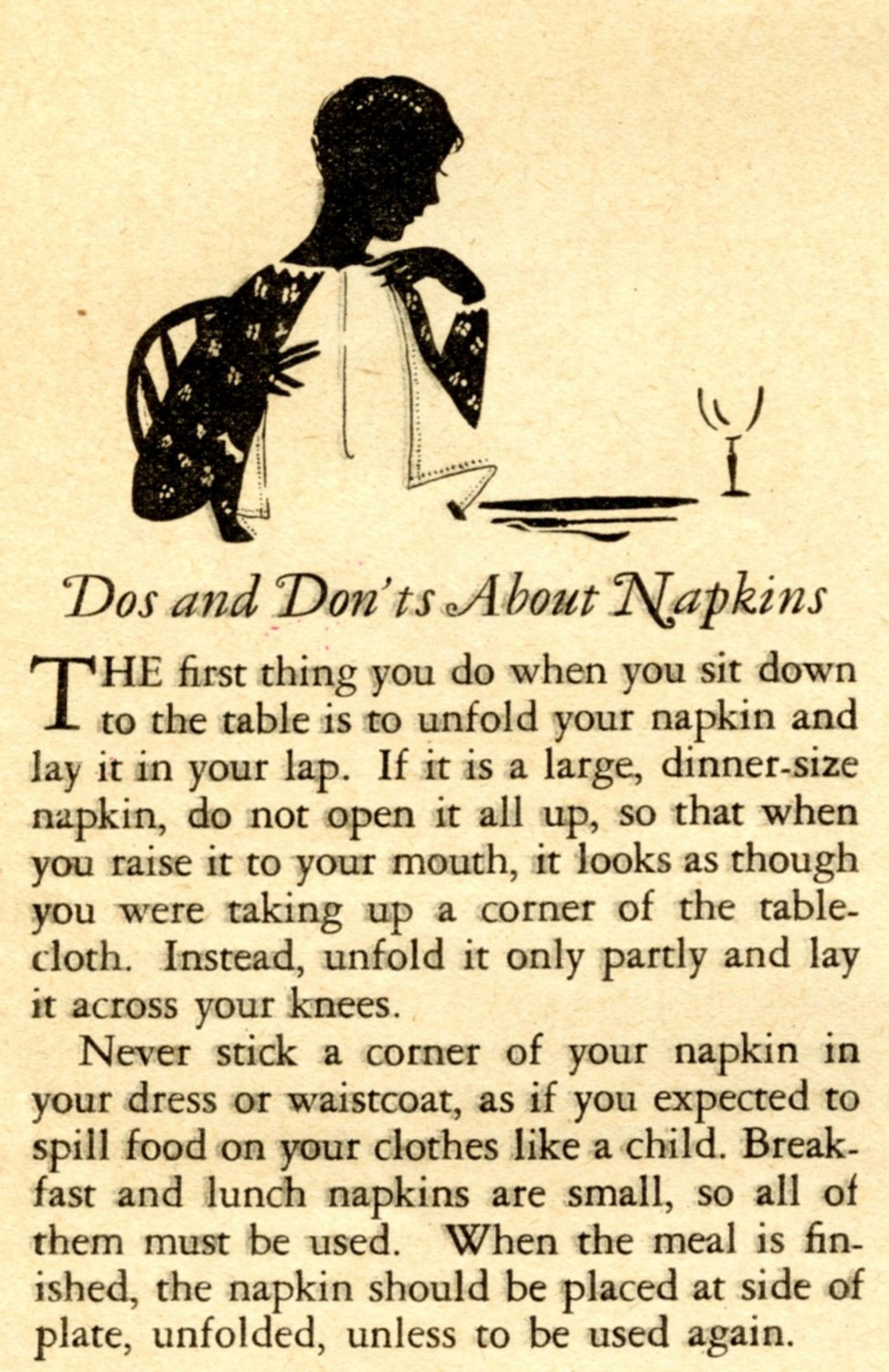 009 Essay Example Basic Table Wonderful Manners 1920