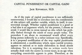 009 Essay Example Capital Punishment Against Death Penalty Shocking Essays Body Conclusion Anti