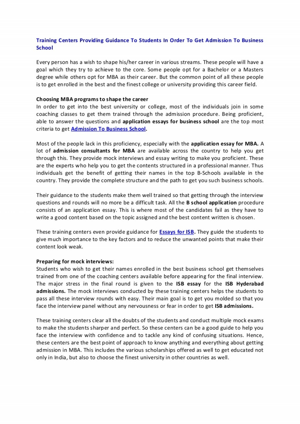 009 Essay Example Columbia Essays Application For Business School Ivyctor Article1 Phpapp01 Thumbn Stanford Harvard Sample Format Best Examples Shocking Mba That Worked Undergraduate Large