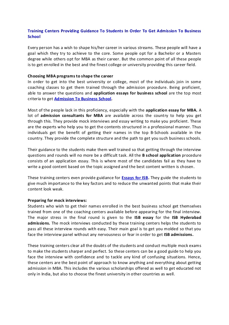 009 Essay Example Columbia Essays Application For Business School Ivyctor Article1 Phpapp01 Thumbn Stanford Harvard Sample Format Best Examples Shocking Mba That Worked Undergraduate Full