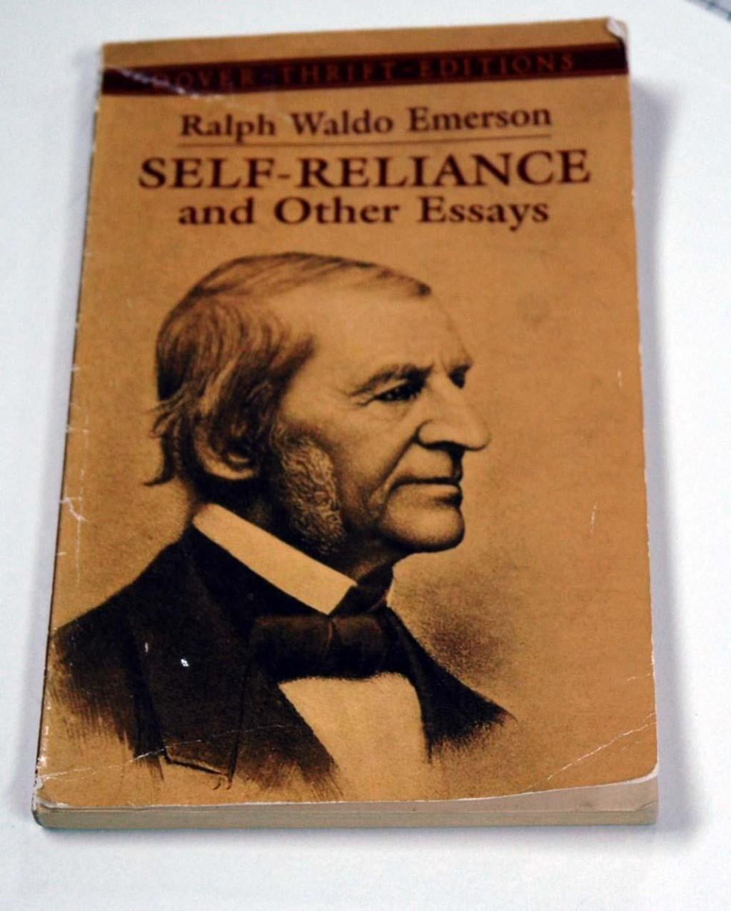 009 Essay Example Emerson Dreaded Essays Ralph Pdf First Series Summary Waldo Nature Large