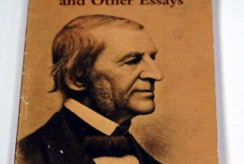 009 Essay Example Emerson Dreaded Essays Self Reliance And Other Second Series Nature