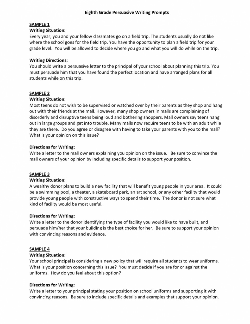 009 Essay Example Essays For Middle School Writing Good High Persuasive Examples How To Write Application Introduction Students Page Narrative Personal Informative Argument Shocking Leadership 960