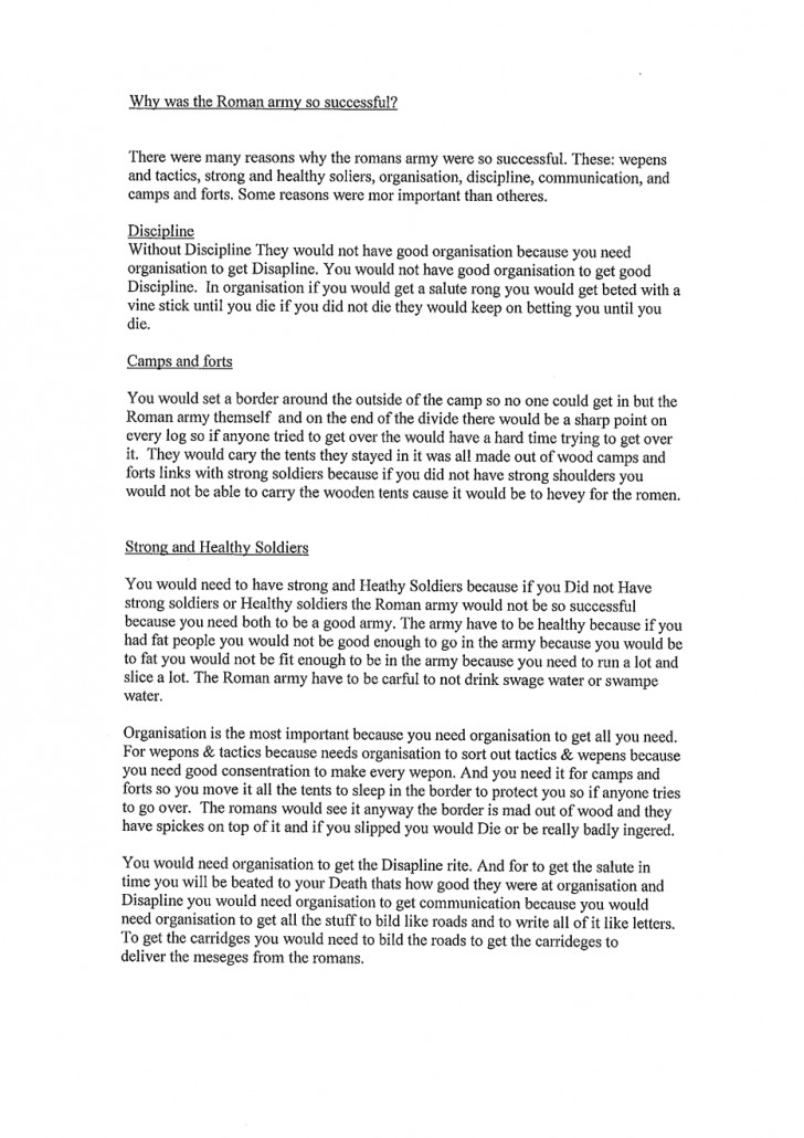 009 Essay Example Exemplification History20level203201 120 Tcm8 Archaicawful Good Topics Conclusion Illustration 728