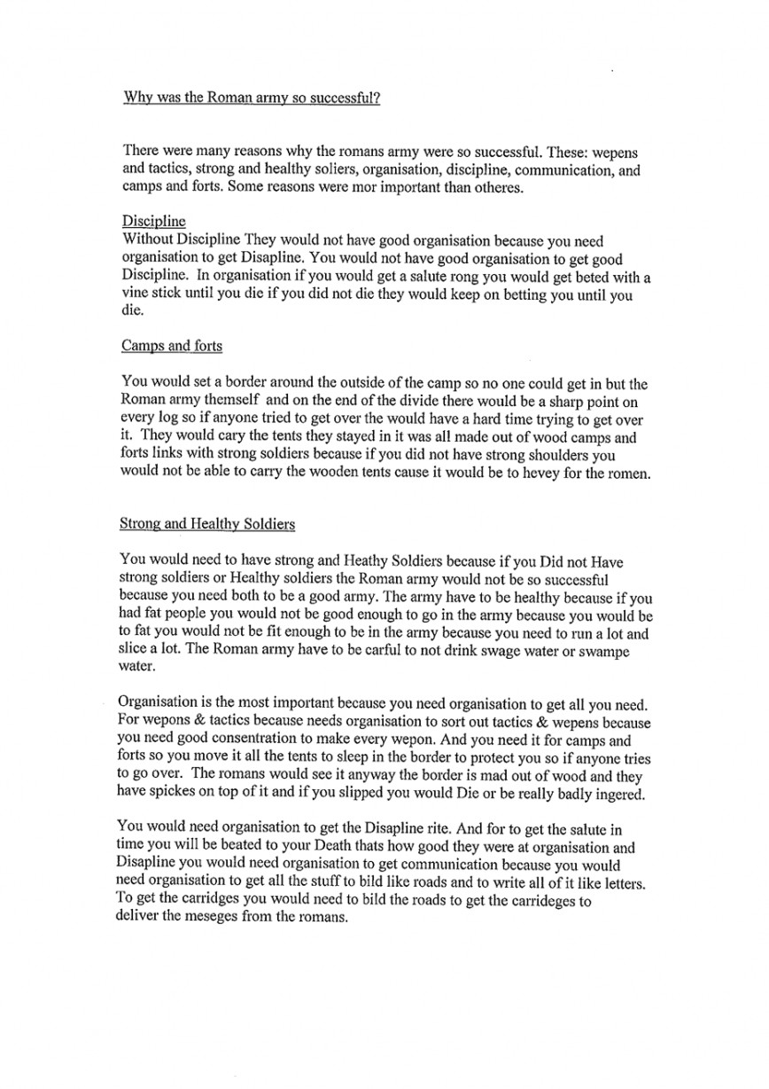 009 Essay Example Exemplification History20level203201 120 Tcm8 Archaicawful Good Topics Conclusion Illustration 868