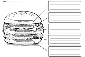 009 Essay Example Five Paragraph Graphic Wonderful Organizer 5 Middle School Pdf Organizer-hamburger