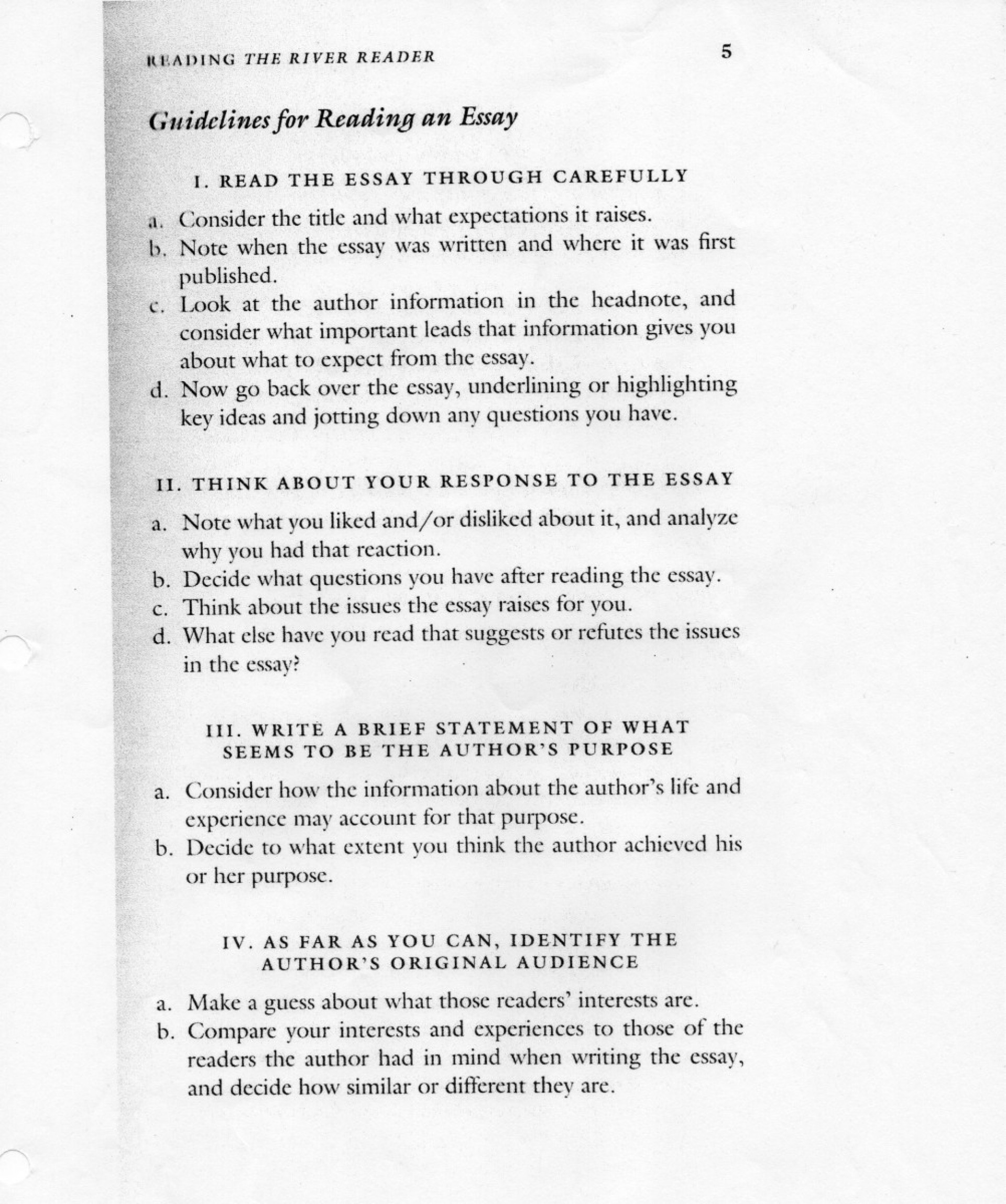 009 Essay Example Guidelines For Reading An Two Kinds By Amy Unbelievable Tan Conclusion Thesis Topics 1920