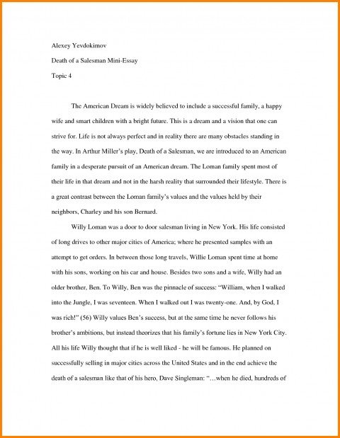 009 Essay Example How To Start Off Good About Top Yourself Introduction Tell Me Pdf Write A Personal For College 480