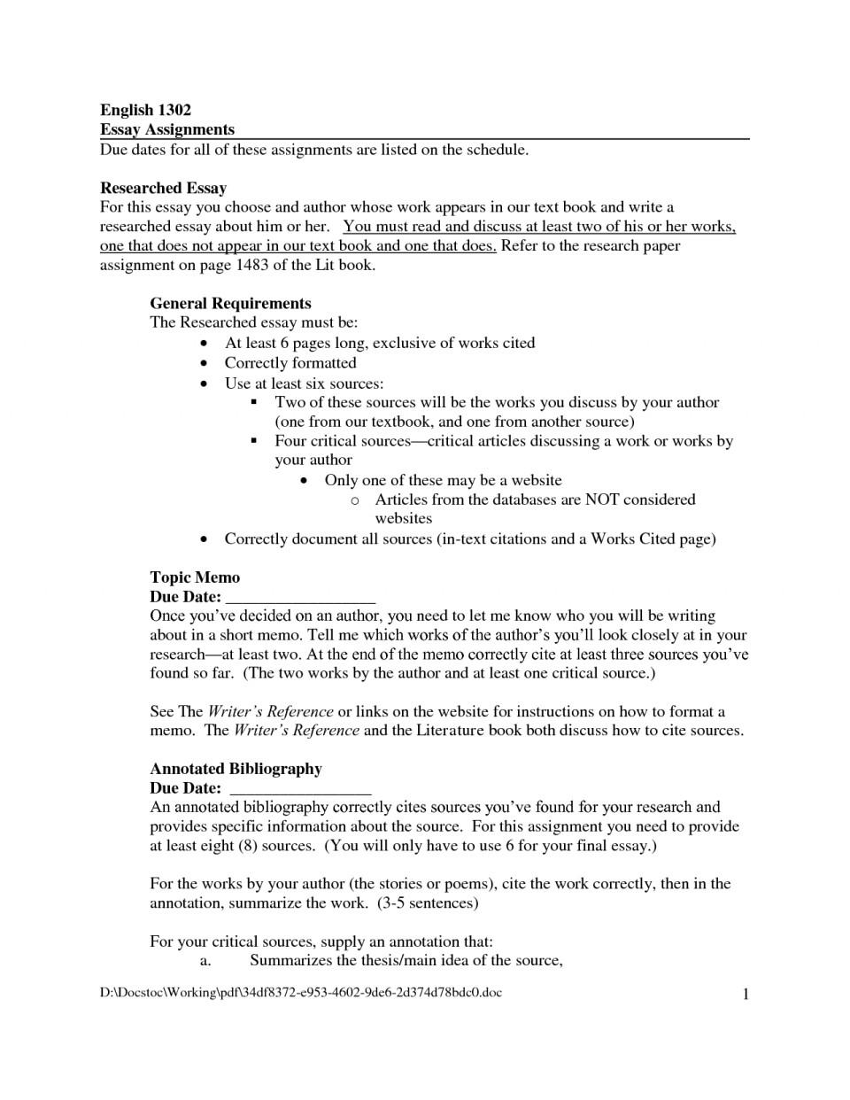 Biographical Essay - Free Essay Example | blogger.com