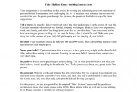 009 Essay Example How To Write This I Believe 008807226 1 Fantastic A Things On What 320