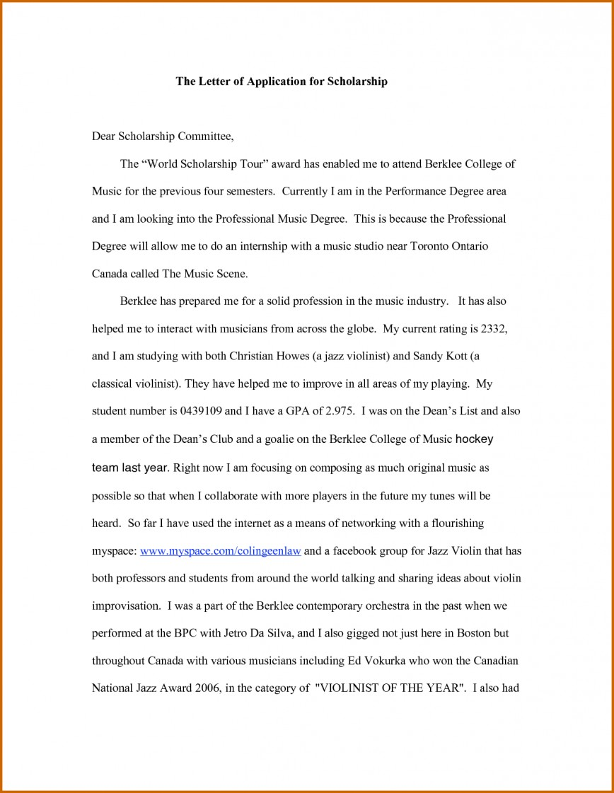009 Essay Example How To Writepplication For Scholarship What Awesome Write A That Stands Out About Your Career Goals Financial Need 868