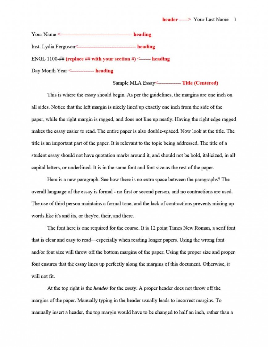009 Essay Example Mla Format Template Sensational Google Docs Sample 868