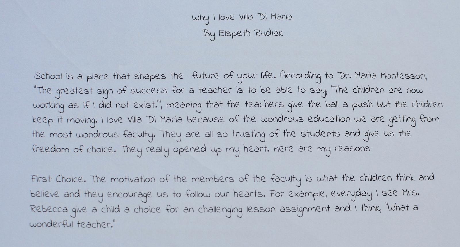 009 Essay Example My School 41204544975 662945095a H Amazing Dream For Class 10 In Urdu 1 3 Marathi Full
