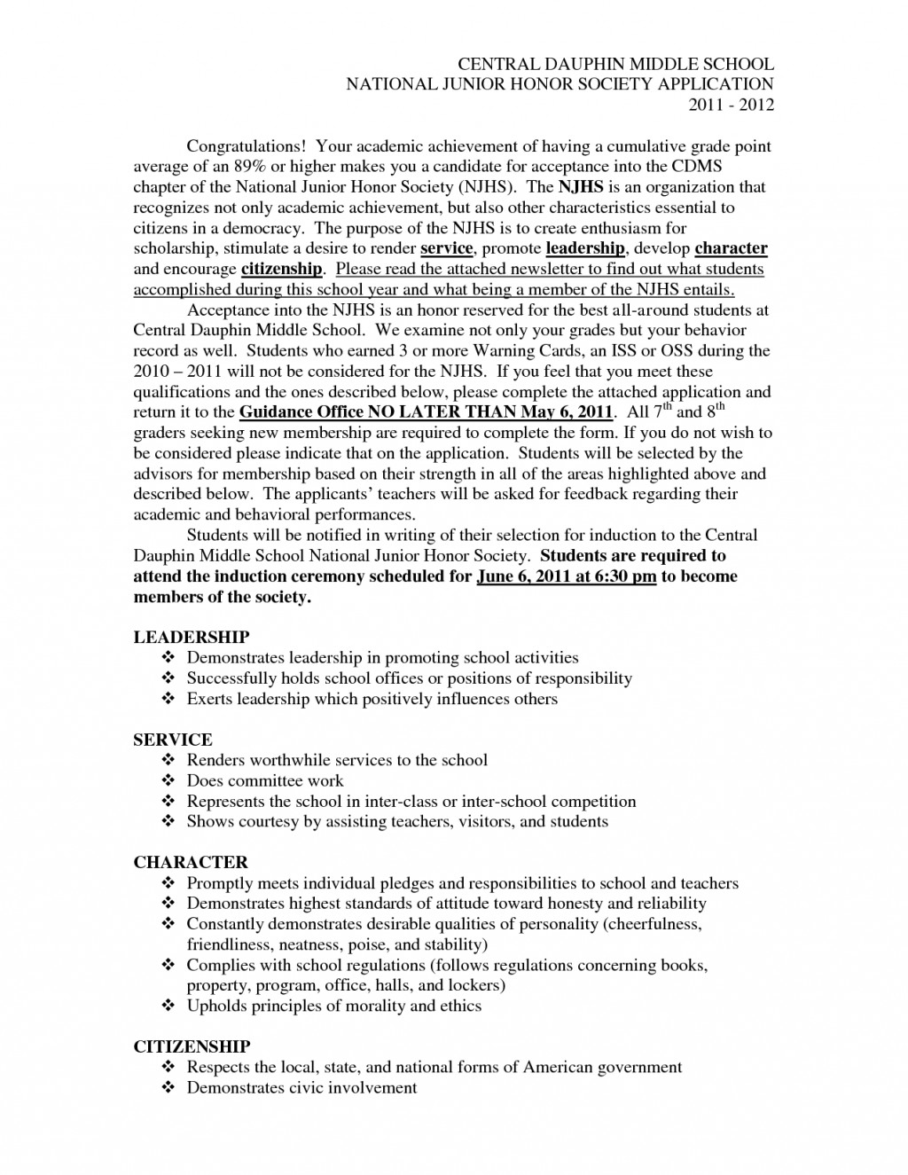009 Essay Example National Honors Society Writing Introductions For Honor Essays L Unique Junior Leadership Sample Large