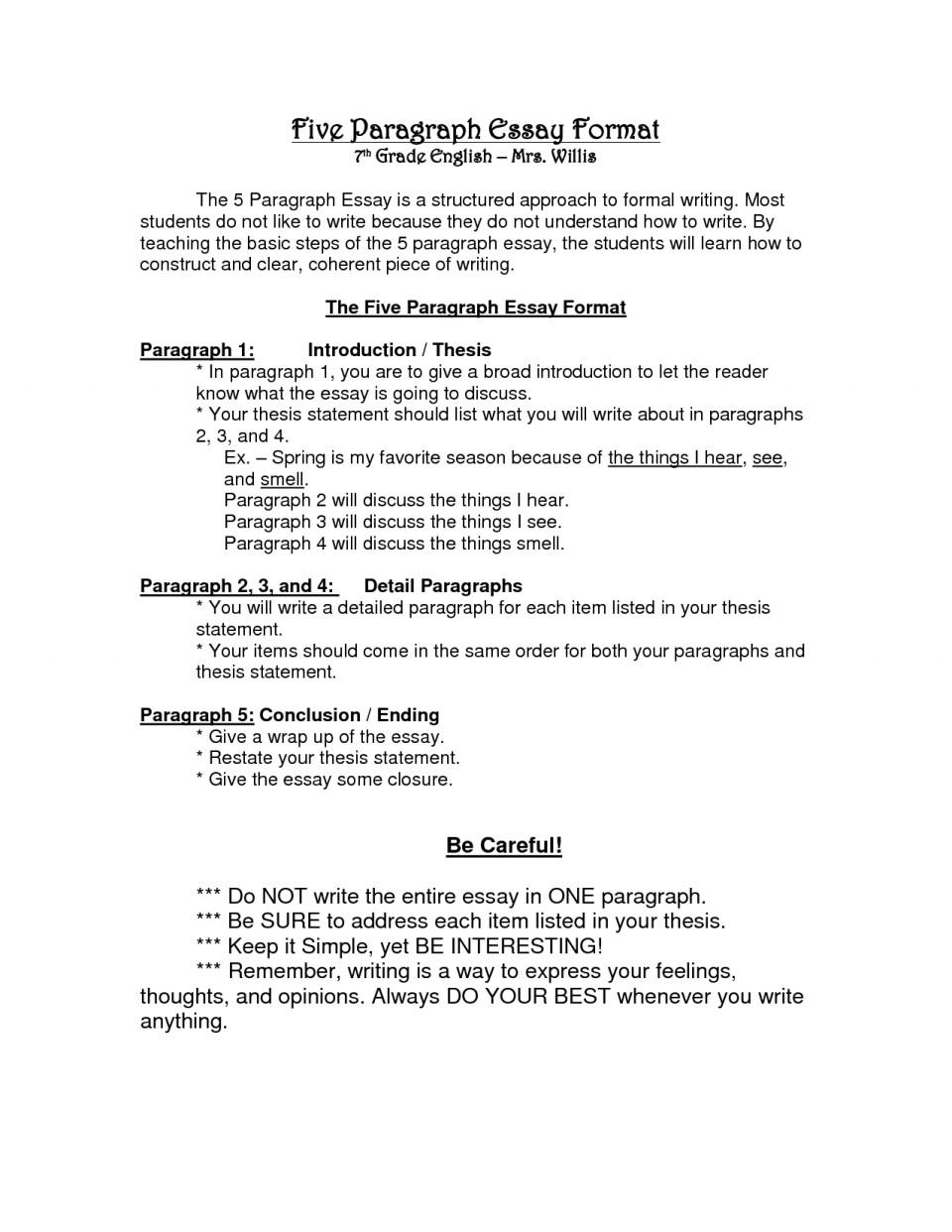 009 Essay Example Paragraph Format Examples 96536 Impressive 5 Outline Five Template Pdf Argumentative 960