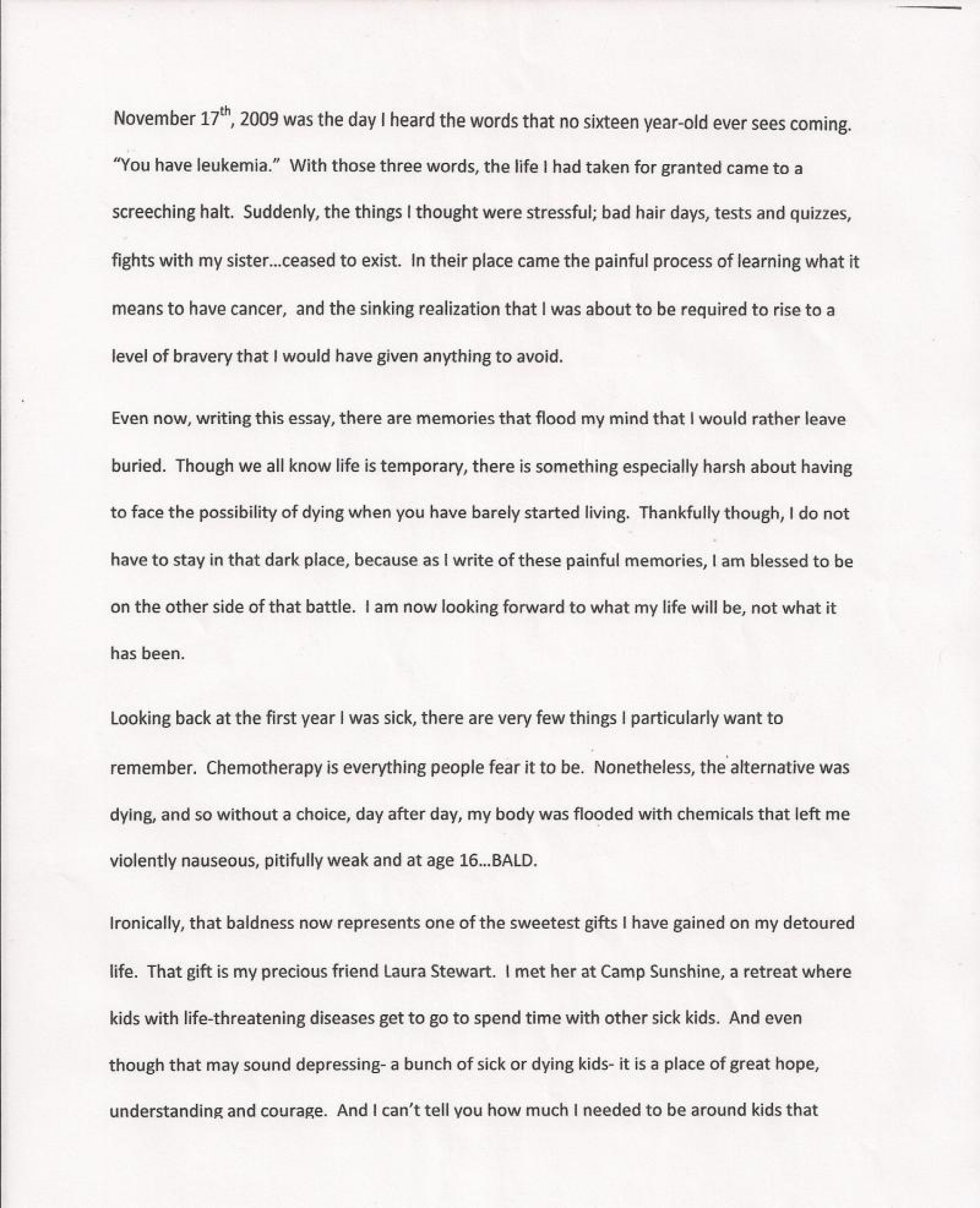 009 Essay Example Rate My First Day In College Hope Shawshank Redemption Sca Grade Free Unforgettable Ielts Sat Paper 1920