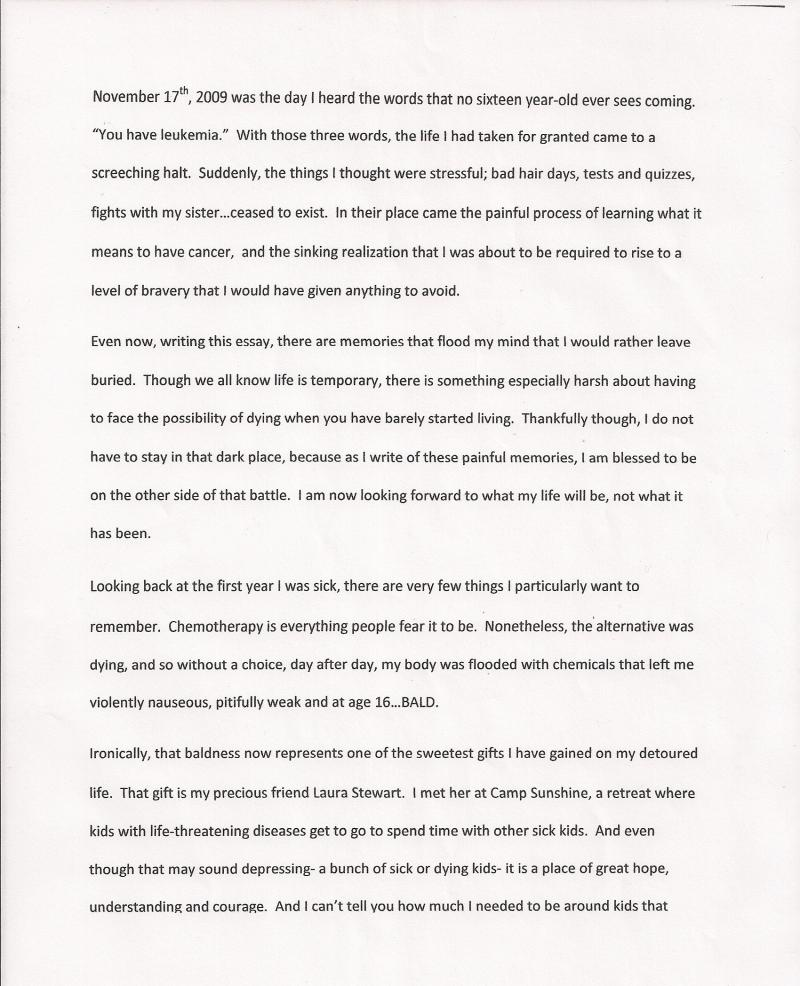 009 Essay Example Rate My First Day In College Hope Shawshank Redemption Sca Grade Free Unforgettable Paper Ielts Full