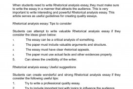 009 Essay Example Rhetorical Definition Dreaded Analysis Meaning