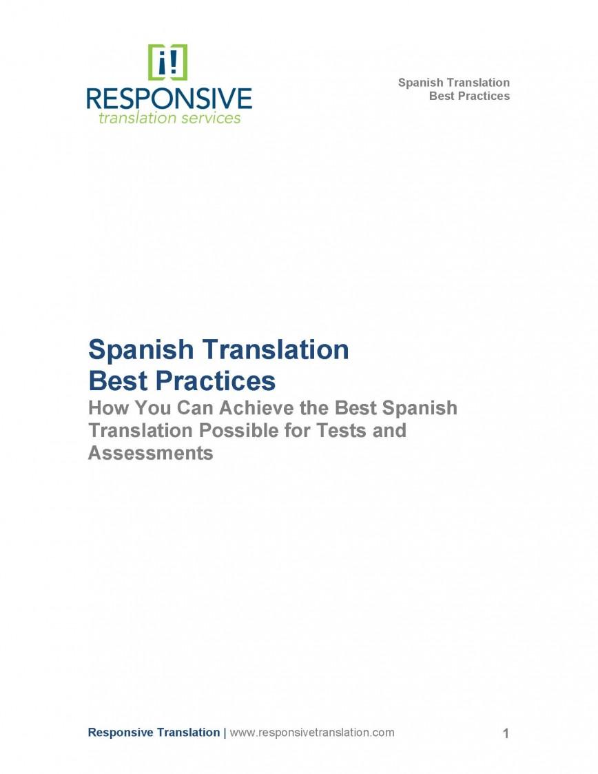 009 Essay Example Spanish White Paper Marvelous Spanishdict Translation Persuasive
