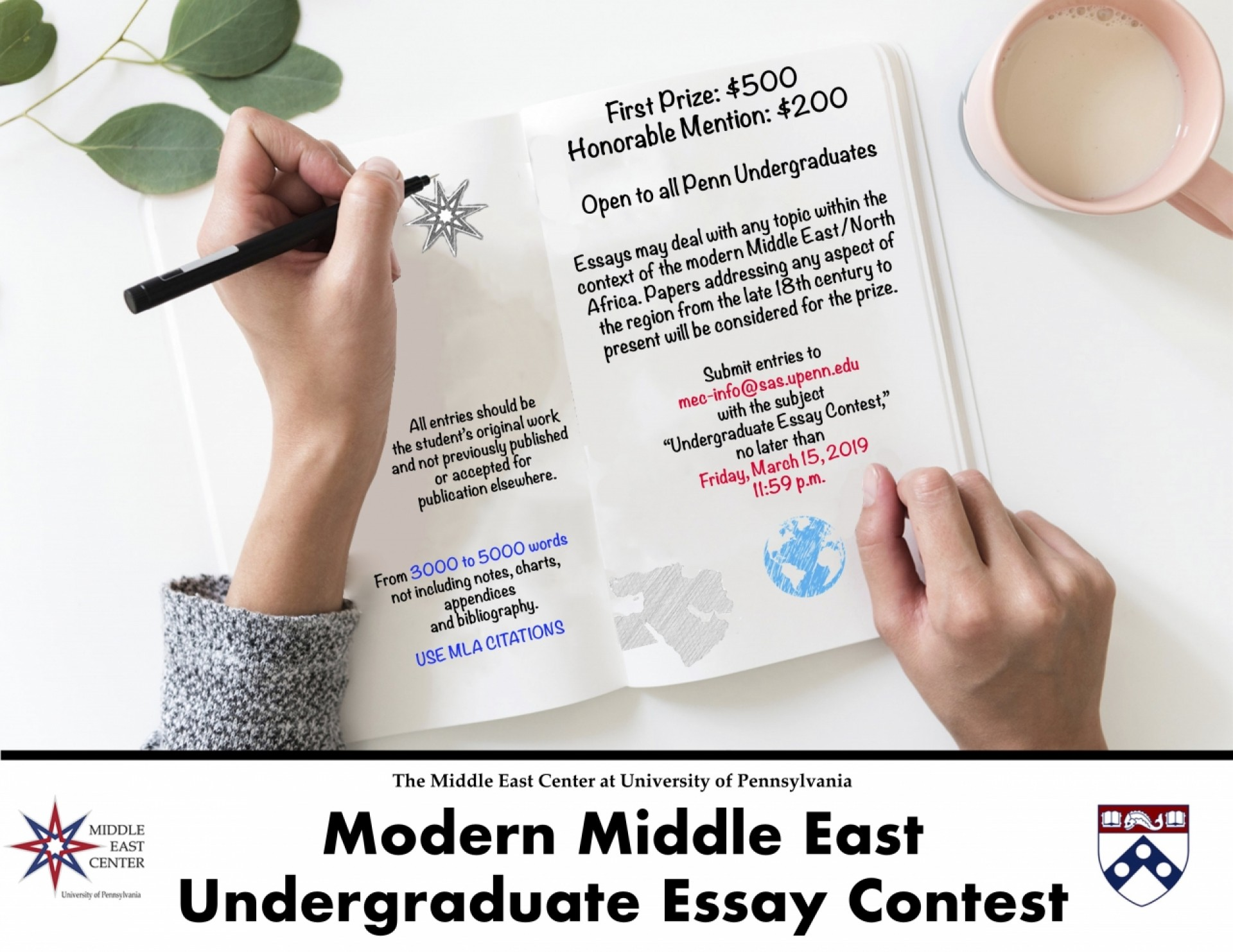 009 Essay Example Undergradessaycontest Remarkable Upenn Prompt 2018 College Confidential 1920