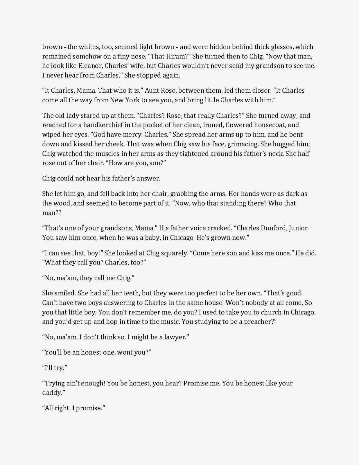 descriptive essay about grandmas house