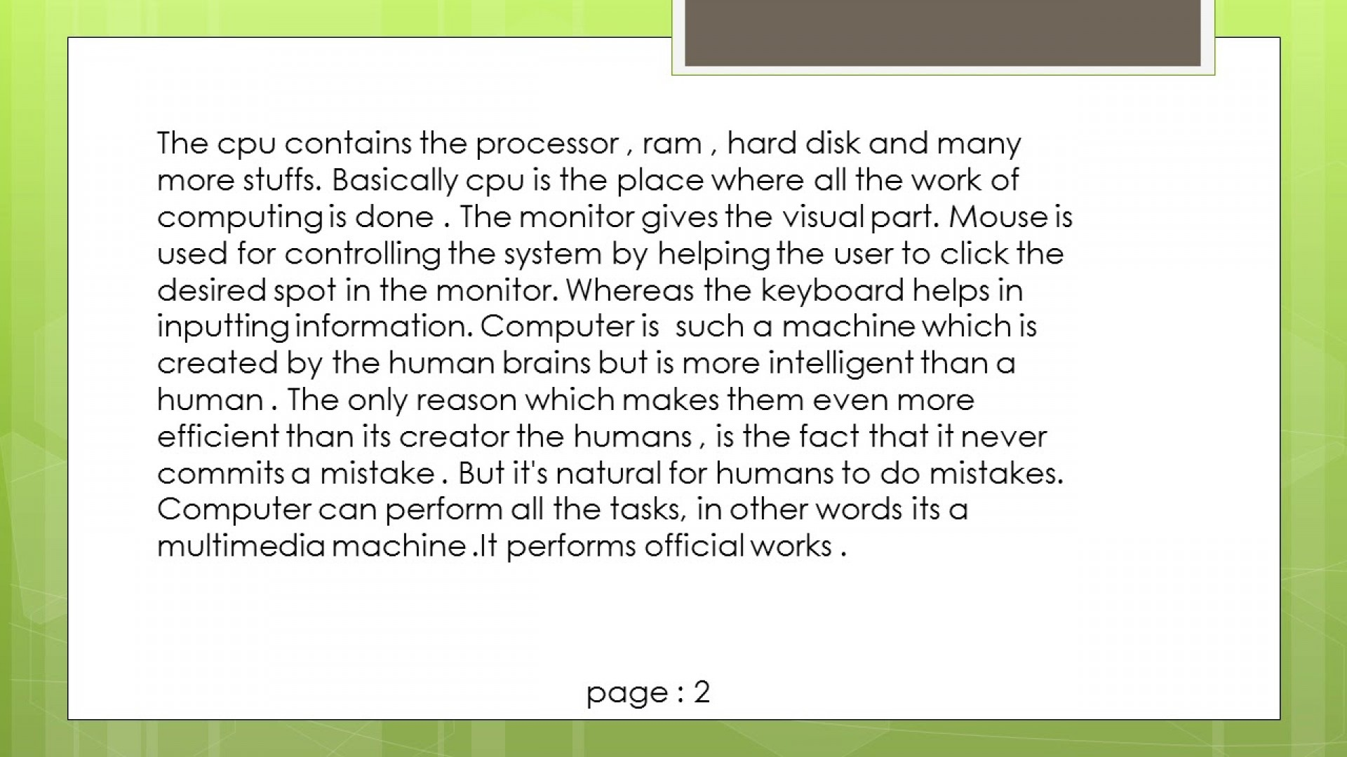 009 Essay On Computer Maxresdefault Fearsome Science In Hindi Urdu 1920