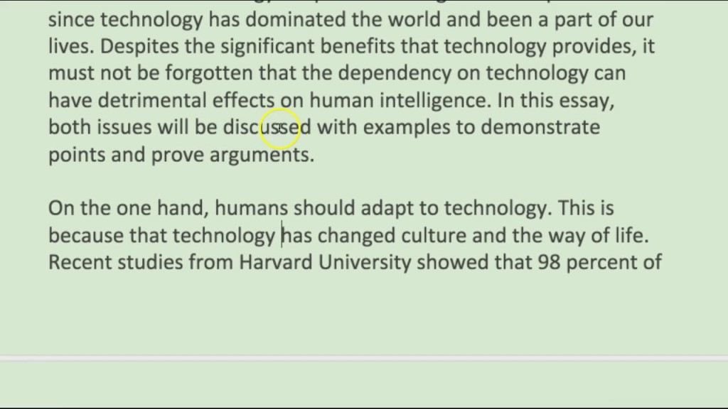 009 Essay On Technology Example Breathtaking Advancement Reflection In The Classroom Technological Advancements And Their Ill-effects Large