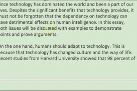009 Essay On Technology Example Breathtaking Advancement Reflection In The Classroom Technological Advancements And Their Ill-effects