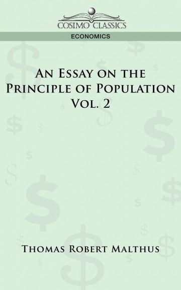 009 Essay On The Principle Of Population Example Singular Malthus Sparknotes Thomas Main Idea 360