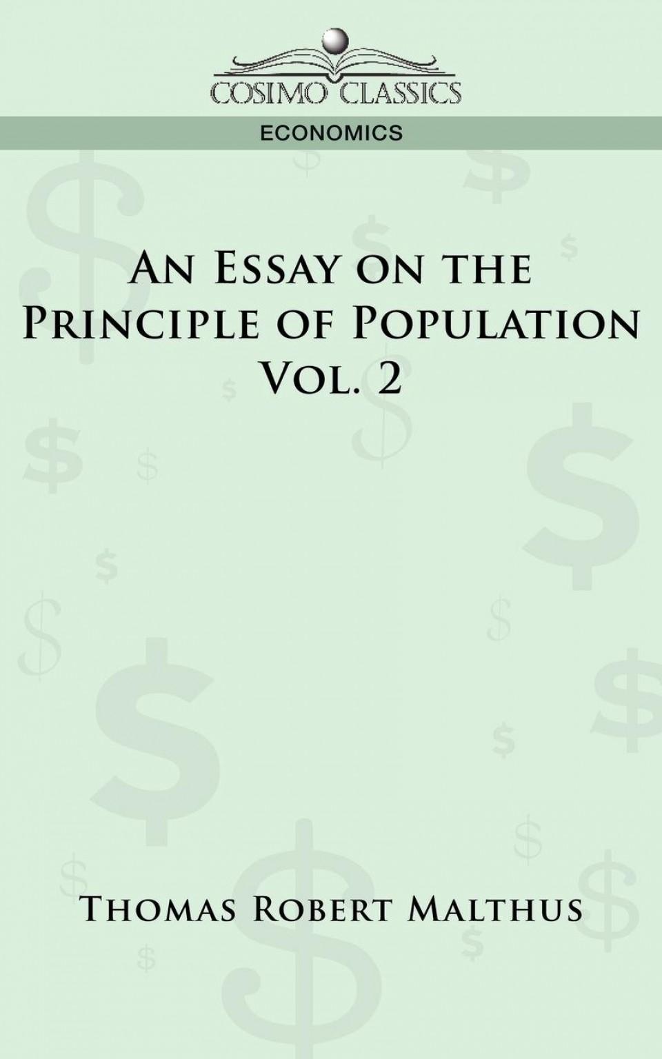 009 Essay On The Principle Of Population Example Singular Malthus Sparknotes Thomas Main Idea 960