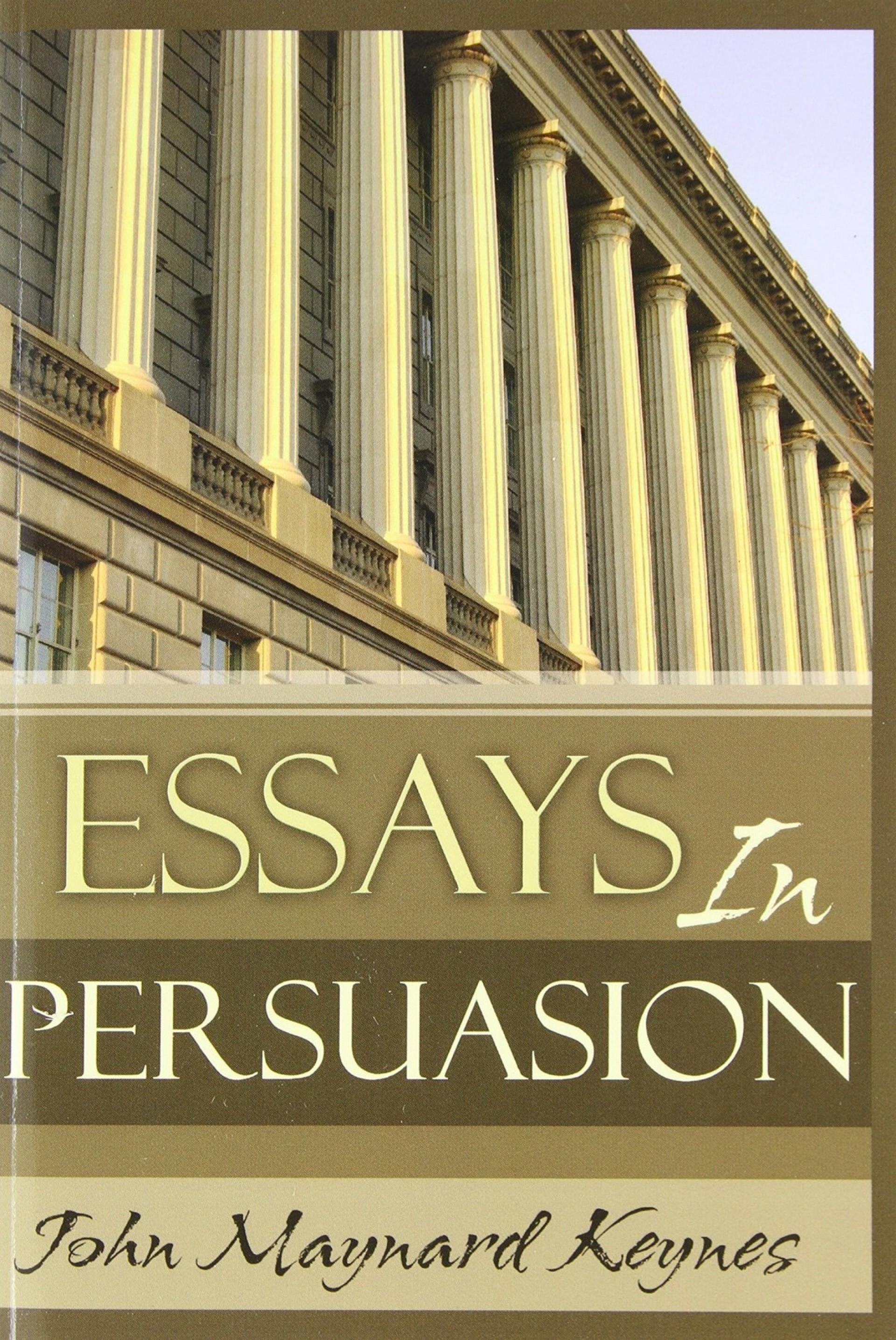 009 Essays In Persuasion By John Maynard Keynes Essay Remarkable Audiobook Pdf Summary 1920